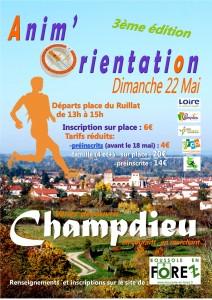 Affiche Champdieu 22 mai
